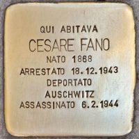 15-Stolperstein_Cesare_Fano_Milano