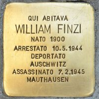 16-Stolperstein_William_Finzi_Milano