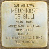 Stolperstein_Melchiorre_de_Giuli_Milano