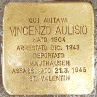 Vincenzo Aulisio - Pietre d'inciampo - Milano -2021
