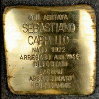Sebastiano Cappello - Pietre d'inciampo - Milano -2021