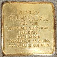 Arturo Colombo - Pietre d'inciampo - Milano -2021