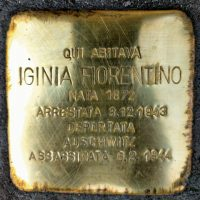 Iginia Fiorentino - Pietre d'inciampo - Milano -2021