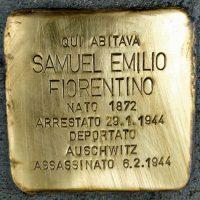 Samuel Emilio Fiorentino - Pietre d'inciampo - Milano -2021