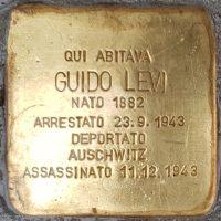Guido Levi - Pietre d'inciampo - Milano -2021
