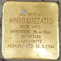 Mario Luzzatto - Pietre d'inciampo - Milano -2021