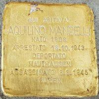 Aquilino Mandelli - Pietre d'inciampo - Milano -2021