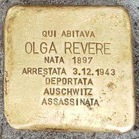 Olga Revere - Pietre d'inciampo - Milano -2021