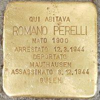 Romano Perelli - Pietre d'inciampo - Milano -2021