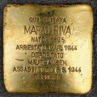 Mario Riva - Pietre d'inciampo - Milano -2021