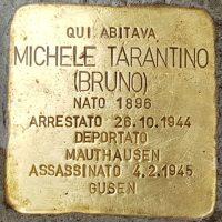 Michele Tarantino - Pietre d'inciampo - Milano -2021